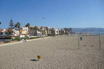 Roquetas strand