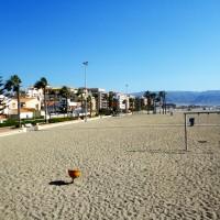 Roquetas-strand